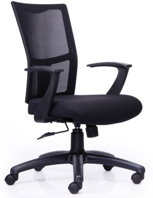 Durian Angeli Fabric Office Chair(Black)