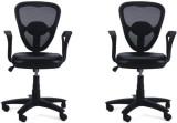Adiko Leatherette Office Chair (Black, S...