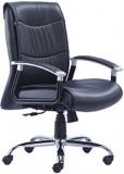 HOF Zoro Metal Office Chair (Black)
