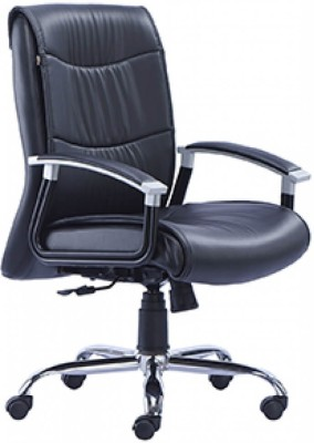 HOF Zoro Synthetic Fiber Office Chair(Black)