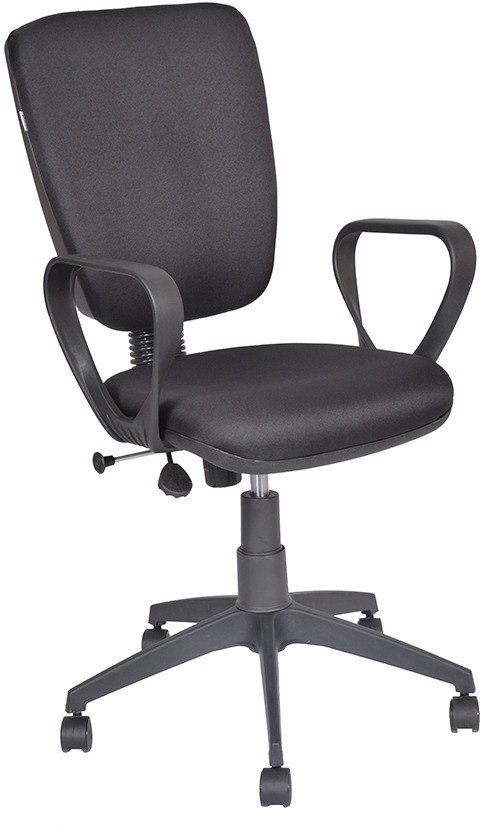 View Rehana Industries Metal Visitor Chair(Black) Furniture (Rehana Industries)