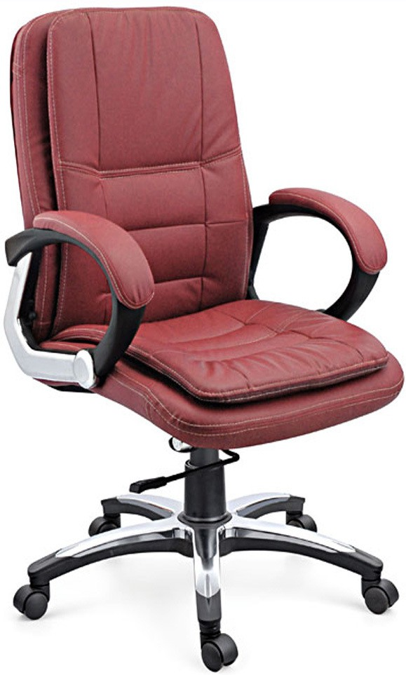 View Woodstock India Office Chair(Maroon, Maroon) Furniture (Woodstock India)