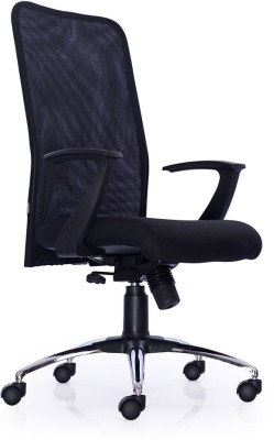 Durian Comfort-Hb-Black Fabric Office Chair