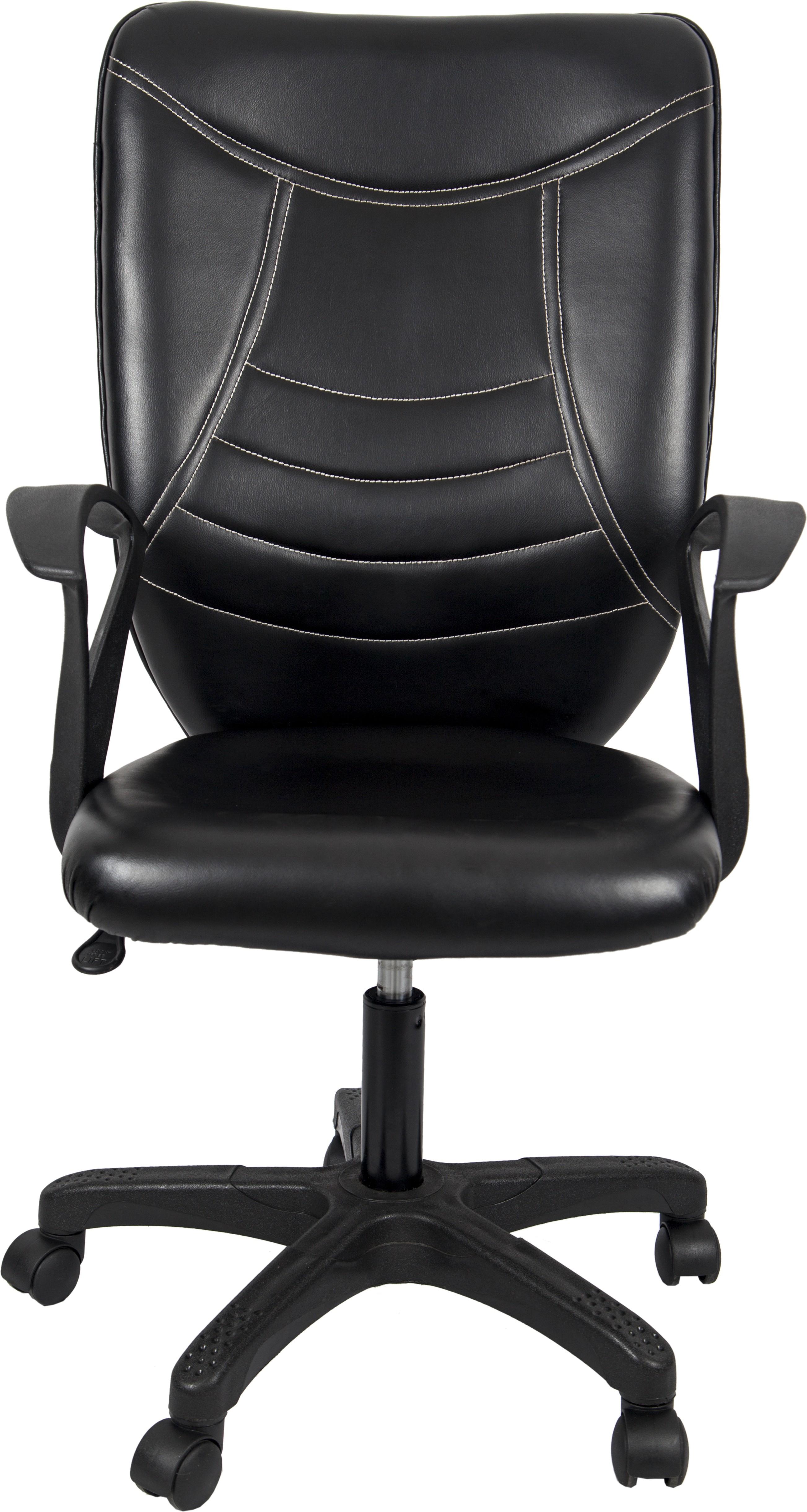 View Hetal Enterprises Leatherette Office Chair(Black) Furniture (Hetal Enterprises)