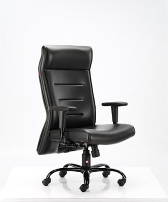 HOF Leatherette Office Chair(Black)