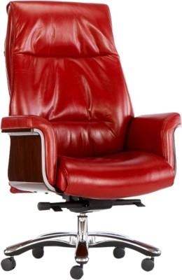 HOF Leatherette Office Chair(Maroon)