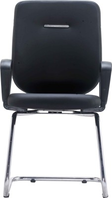 Bluebell Ebuzz Visitor Fabric Office Chair(Black)