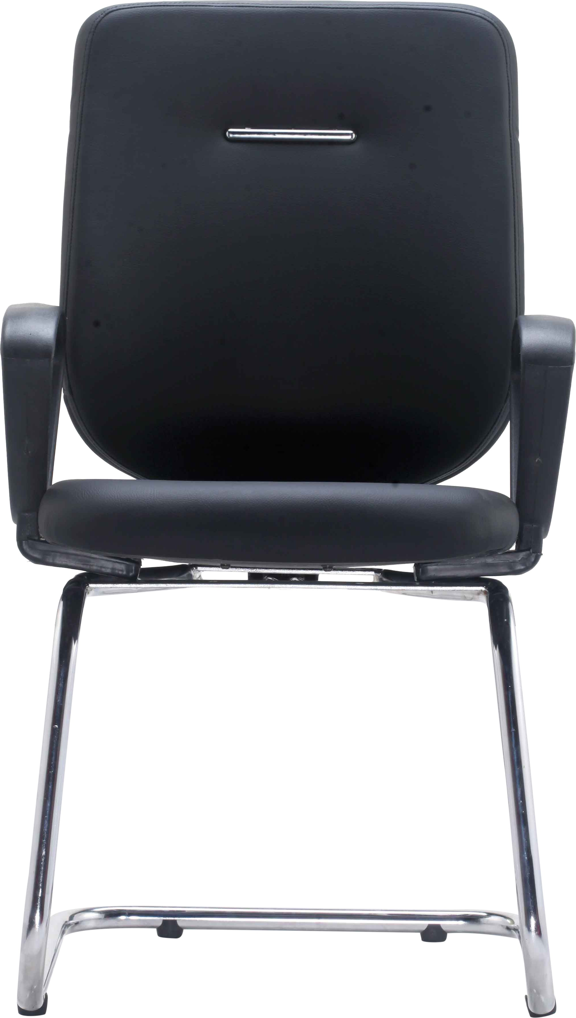 View Bluebell Ebuzz Visitor Fabric Office Chair(Black) Furniture (Bluebell)