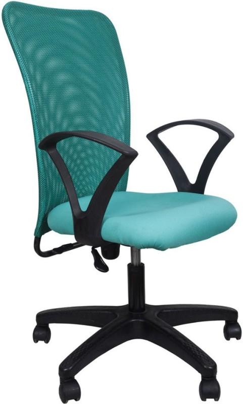 Hetal Enterprises Fabric Office Chair(Green)