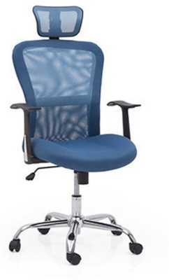 Urban Ladder Venturi 3 Axis Fabric Office Chair(Blue)