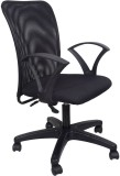 Hetal Enterprises Metal Office Chair (Bl...