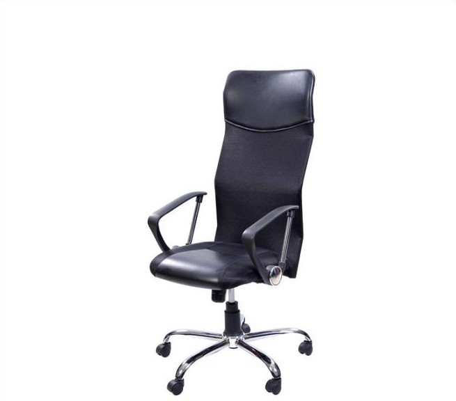 View Stellar Leather Office Chair(Black) Furniture (Stellar)