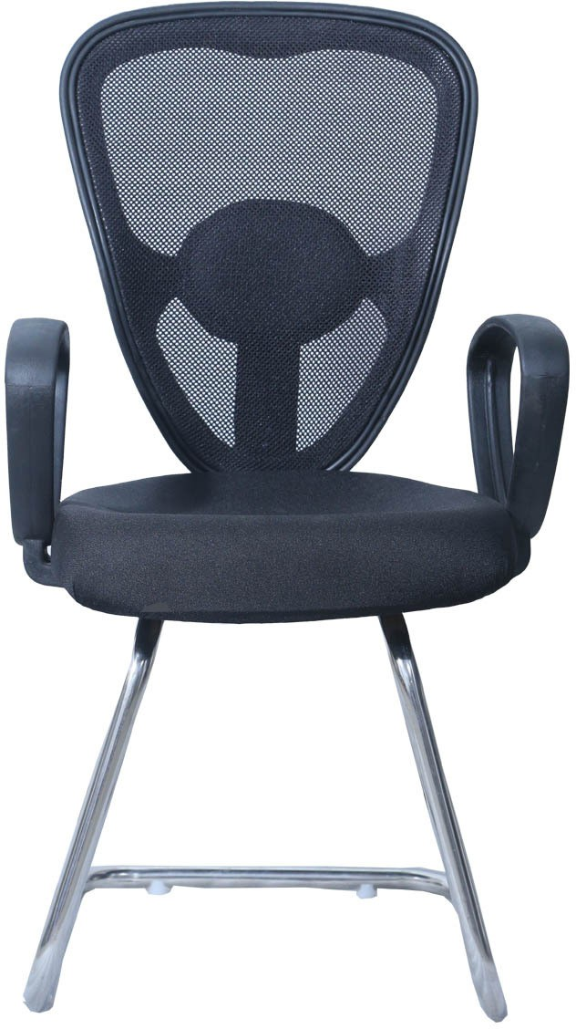 View Woodstock India Plastic Office Chair(Black, Black) Furniture (Woodstock India)