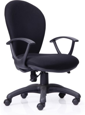 Durian Excel Fabric Office Chair(Black)
