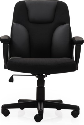 Durian Maple/LB Leatherette Office Chair
