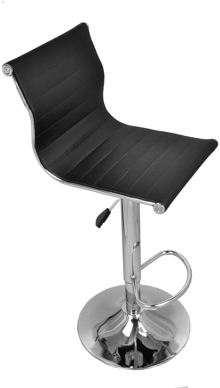 View Darla Interiors Leatherette Visitor Chair(Black) Furniture (Darla Interiors)