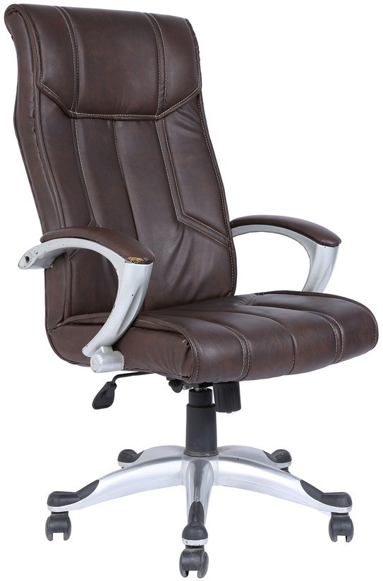 View Divano Engineered Wood Office Chair(Brown) Furniture (Divano)