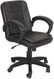 Divano Engineered Wood Office Chair (Bla...