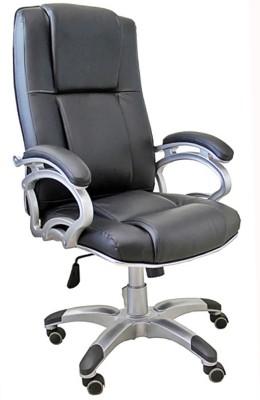 TimberTaste SOPHIA Metal Office Chair(Black)