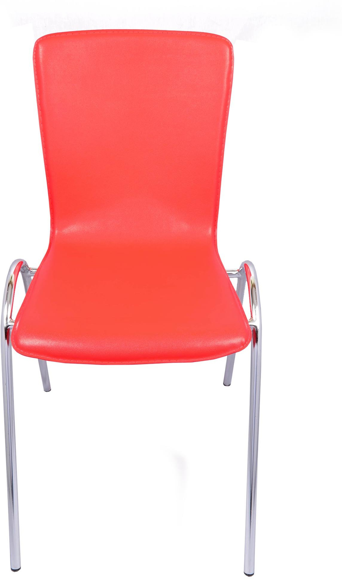 View Darla Interiors Leatherette Office Chair(Red) Furniture (Darla Interiors)