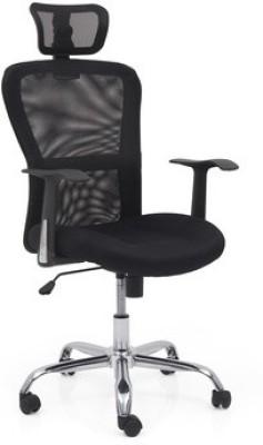 Urban Ladder Venturi Leatherette Study Chair(Black)