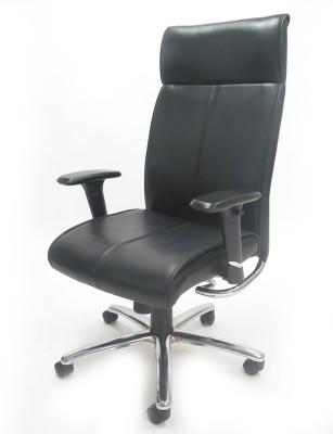 Chromecraft Leatherette Office Chair
