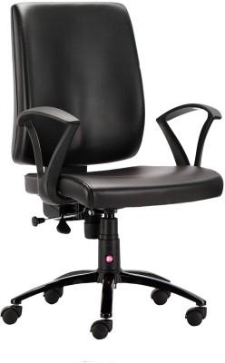 HOF Leatherette Office Chair(Black)