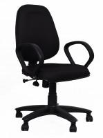 View HOMESTOCK Fabric Office Chair(Black, Black) Furniture