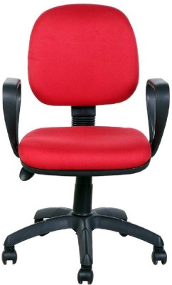 Parin Plastic Office Chair(Red)