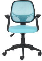 Bluebell Vertx Low Back Fabric Office Chair(Blue)