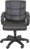 Ks chairs Solid Wood Study Chair (Black)