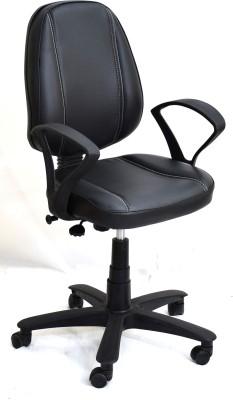 TimberTaste LORA Metal Office Chair(Black)
