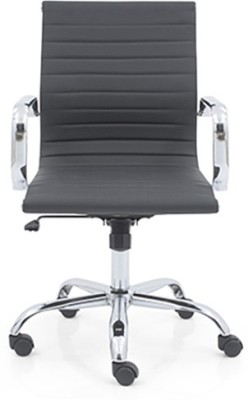 Urban Ladder Charles 2 Axis Fabric Office Chair(Black)