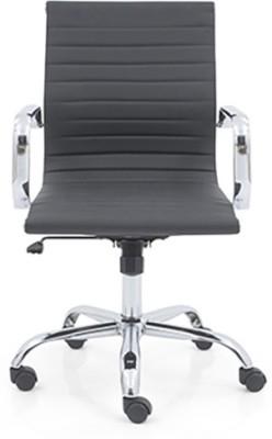 Urban Ladder Charles 2 Axis Fabric Office Chair(Black)