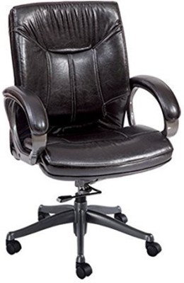 Mavi Leatherette Study Chair
