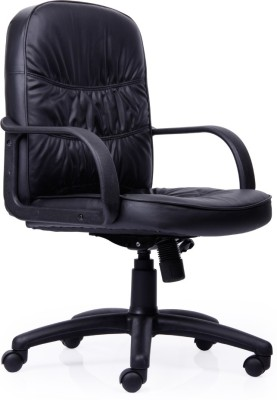 Durian MARSHAL-MB Leatherette Office Chair(Black)