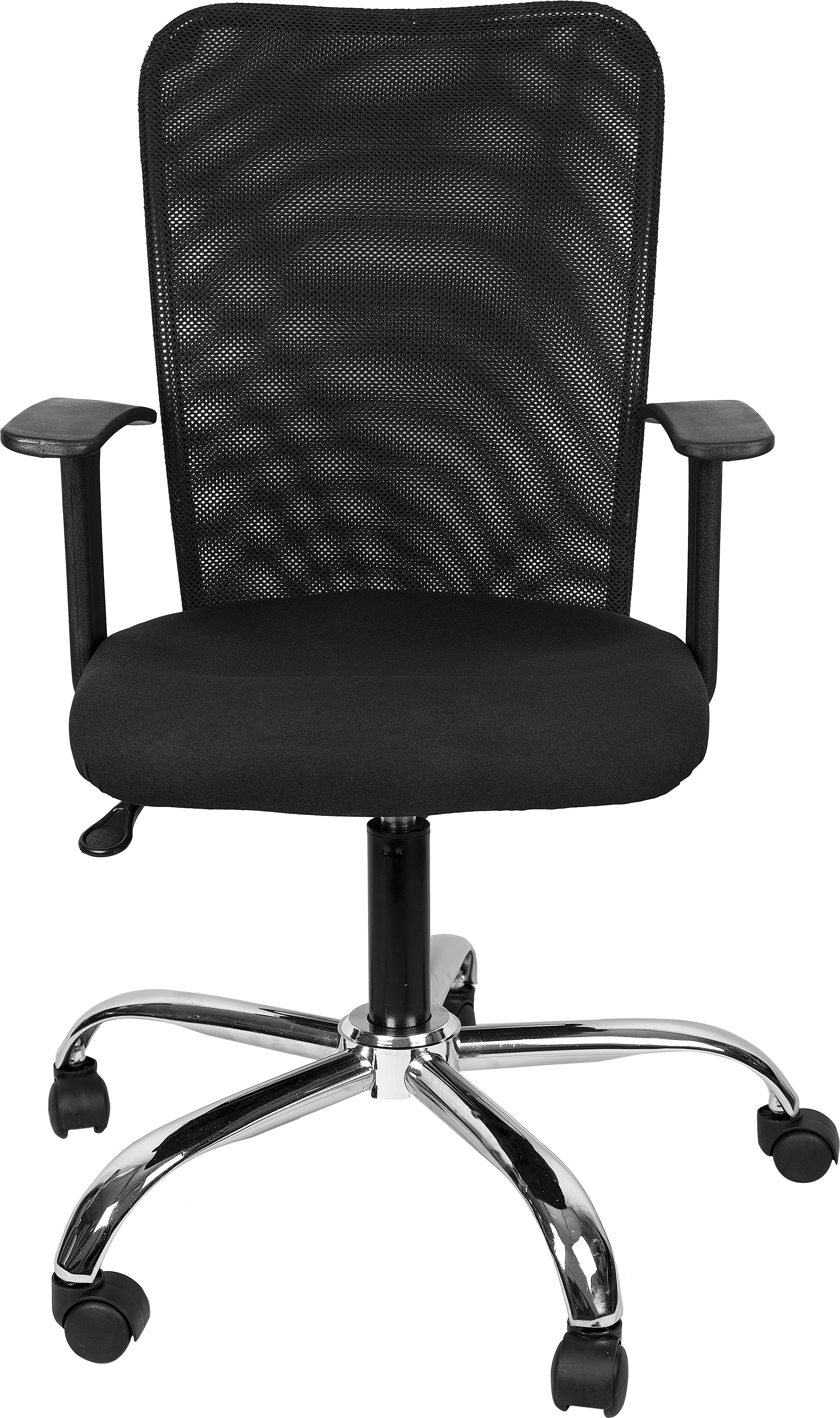View Hetal Enterprises Fabric Office Chair(Black) Furniture (Hetal Enterprises)