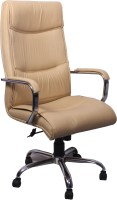 Woodstock India Leatherette Office Chair(White)