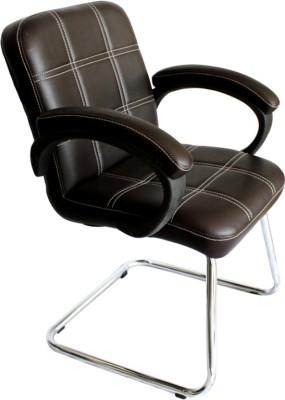 Mavi Leatherette Visitor Chair