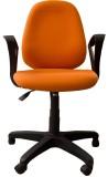 Woodpecker Fabric Office Chair (Orange)