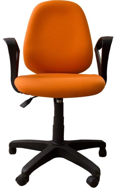 Woodpecker Fabric Office Chair(Orange)