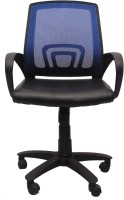VJ Interior Fabric Office Chair(Blue)