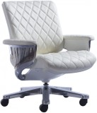 HOF Kenzo Metal Office Chair (White)
