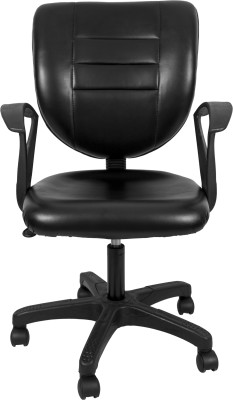 Hetal Enterprises NA Office Chair(Black) at flipkart