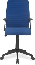 Nilkamal Thames Metal Office Chair(Blue)