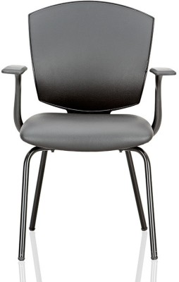Featherlite Smart With Arms Leatherette Visitor Chair