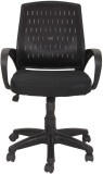 Ks chairs Plastic Study Chair (Black)