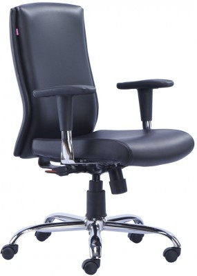 HOF Marco Synthetic Fiber Office Chair(Black)