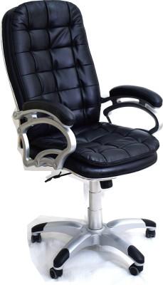 TimberTaste SUNNY Metal Office Chair(Black)