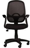 Ks chairs Fabric Office Chair (Black)